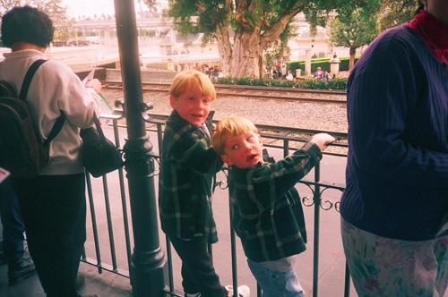 Boys-waiting-for-train