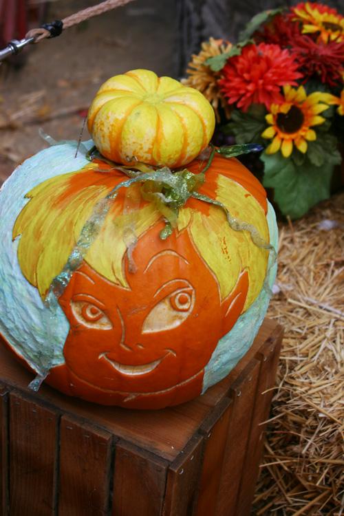 Tinkerbell-pumpkin