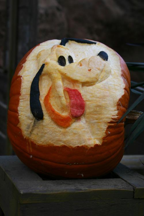 Pluto-pumpkin