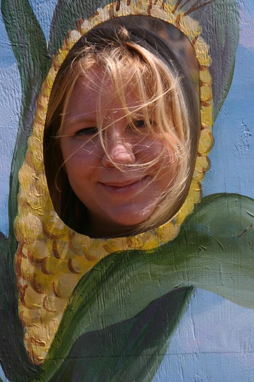 Corny-daughter
