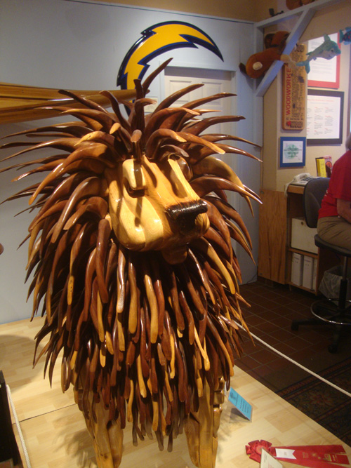 Wood-lion