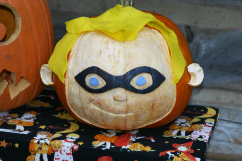 Incredibles-pumpkin