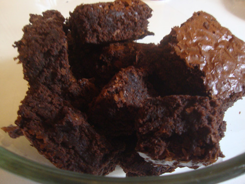 Cut-up-brownies