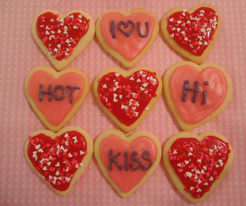 Conversation-heart-cookies