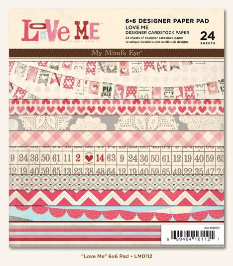 Love Me paper pad