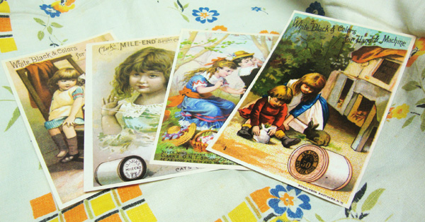 Vintage-style-trade-cards